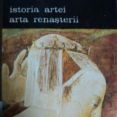 ISTORIA ARTEI- ARTA RENASTERII- ELIE FAURE- 1988 - Carte Istoria artei