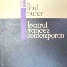 TEATRUL FRANCEZ CONTEMPORAN-PAUL SURER 1968 - Carte Teatru