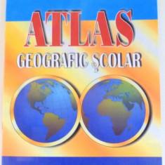 ATLAS GEOGRAFIC SCOLAR de EUSTATIU C. GREGORIAN, VICTOR DUMITRESCU, NICOLAE GHEORGHIU - Carte Geografie