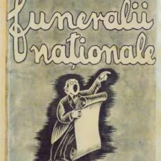 FUNERALII NATIONALE, NUVELE SI SCHITE de MARIN IORDA