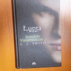 JURNALELE VAMPIRILOR, VOL. II LUPTA de L. J. SMITH - Nuvela