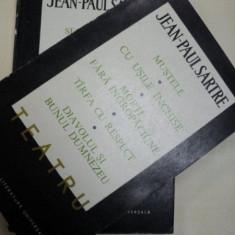 Teatru vol I-II. Jean Paul Sartre - Carte Teatru