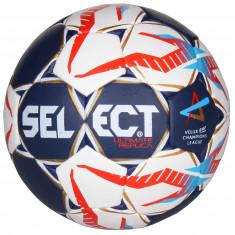 Minge Select Handball Ultimate Replica Champions League 2017 minge handbal albastru-galben n. 2