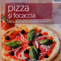 DELICII IN BUCATARIE, PIZZA SI FOCACCIA, RETETE PENTRU CEL MAI INDRAGIT FEL DE MANCARE, 2011 - Carte Retete traditionale romanesti