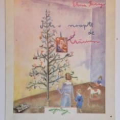 INTR - O NOAPTE DE CRACIUN de ELENA FARAGO, DESENE DE SORIN IONESCU, 1991 - Carte de povesti
