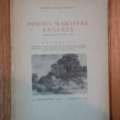 DESENUL SI GRAVURA ENGLEZA ( SEC XVIII - XX ) - Carte Istoria artei