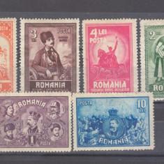 Romania 1929 10 Ani de la Unirea Transilvaniei - Timbre Romania, Istorie, Nestampilat