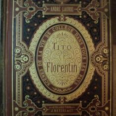 TITO LE FLORENTIN de ANDRE LAURIE, 1885 - Carte veche