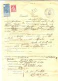Z327 DOCUMENT VECHI -SCOALA COMERCIALA , BRAILA - ANGHEL POPESCU -AN 1925