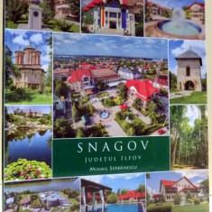 SNAGOV, JUDETUL ILFOV de MIHAIL SERBANESCU, 2017 - Carte Geografie