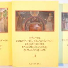 SFANTUL CONSTANTIN BRANCOVEANU OCROTITORUL EPISCOPIEI SLATINEI SI ROMANATILOR, VOL I-III, 2014 - Istorie