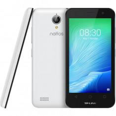 Smartphone TP-Link Neffos Y50, Dual Sim, 4.5 Inch, Quad Core, 1 GB RAM, 8 GB, 4G, Android Marshmallow, Alb