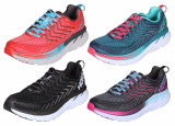 Hoka Clifton 4 W pantofi alergare femei albastru-verde UK 6