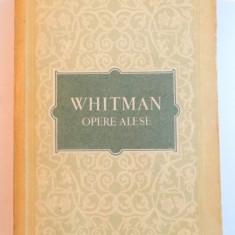 OPERE ALESE de WALT WHITMAN,1956