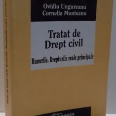 TRATAT DE DREPT CIVIL, BUNURILE . DREPTURILE REALE PRINCIPALE de OVIDIU UNGUREANU SI CORNELIA MUNTEANU, 2008