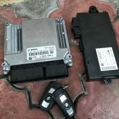 Kit pornire, ECU, CAS, DDE calculator motor BMW E87, E90 120d, 320d N47 - ECU auto, 3 (E90) - [2005 - 2013]