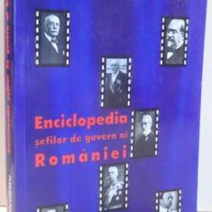 ENCICLOPEDIA SEFILOR DE GUVERN AI ROMANIEI de NICOLAE C. NICOLESCU , 2006