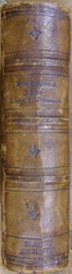 BIBLIOTECA PORTATIVA . COLEGAT (1854-1860) / PROCES GENERAL INTRE DOE HORDII SI NATIO de I.H. RADULESCU (1861) foto