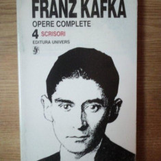 OPERE COMPLETE VOL. IV de FRANZ KAFKA, Bucuresti 1996 - Carte in germana