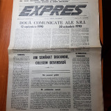 ziarul expres octombrie 1990-articolul-la timisoare se judeca viitorul romaniei