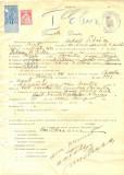 Z332 DOCUMENT VECHI -SCOALA COMERCIALA , BRAILA - MIHAIL PETRESCU -AN 1925