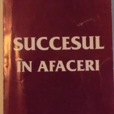 SUCCESUL IN AFACERI, INDRUMAR PENTRU INFIINTAREA FIRMEI PROPRII de ANASTASIOS D. KARAYIANNIS, 1995 - Carte Marketing