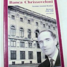 BANCA CHRISSOVELONI SOCIETATE ANONIMA BUCURESTI 1920-1948 - Carte Marketing