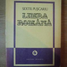 LIMBA ROMANA , VOL I de SEXTIL PUSCARIU , 1976
