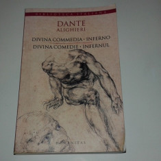 DANTE ALIGHIERI - DIVINA COMMEDIA-INFERNO \ DIVINA COMEDIE-INFERNUL