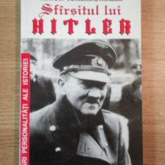SFARSITUL LUI HITLER de ANTON JOACHIMSTHALER, 1995 - Istorie