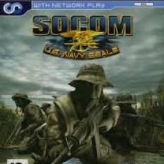 SOCOM US NAVY SEALS - PS2 [Second hand] - Jocuri PS2, Shooting, 16+, Single player