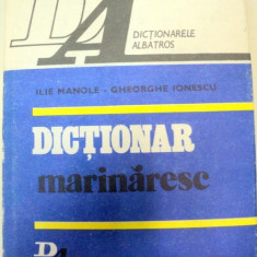 DICTIONAR MARINARESC-ILIE MANOLE - Carti Mecanica