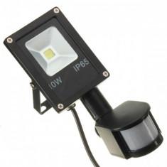 Proiector LED 10W Slim Senzor - Corp de iluminat, Proiectoare