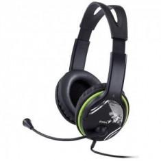Casti Genius Over-Head HS-400A green - Casca PC