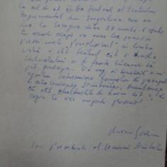 MARIN SORESCU, PRIMIRE INVITATIE FESTIVALUL DE TEATRU EXPERIMENTAL