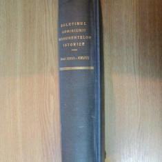 BULETINUL COMISIUNIIMONUMENTELOR ISTORICE, PUBLICATIUNE TRIMESTRIALA, ANUL XXVI- XVIII, 1933-1935