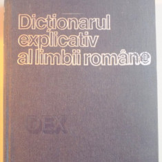 DICTIONARUL EXPLICATIV AL LIMBII ROMANE 1975 - Carte in alte limbi straine