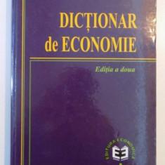 DICTIONAR DE ECONOMIE, EDITIA A DOUA, 2001 - Carte Marketing