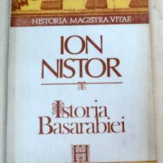 ISTORIA BASARABIEI-ION NISTOR BUCURESTI 1991 - Carte Istorie