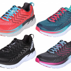 Hoka Clifton 4 W pantofi alergare femei gri-roz UK 6