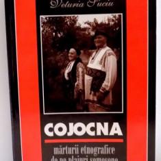COJOCNA, MARTURII ETNOGRAFICE DE PE PLAIURI SOMESENE de VETURIA SUCIU, DEDICATIE *, 2003 - Carte Fabule