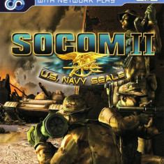 SOCOM II - PS2 [Second hand] - Jocuri PS2, Shooting, 16+, Single player