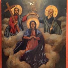 INCORONAREA MAICII DOMNULUI, ICOANA RUSIA SECOLUL XIX - Pictor roman