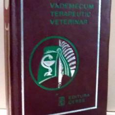VADEMECUM TERAPEUTIC VETERINAR de E. LICPERTA , 1973
