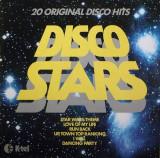 Cumpara ieftin Disco Stars (1978, K-Tel) disc vinil LP compilatie pop, rock, disco
