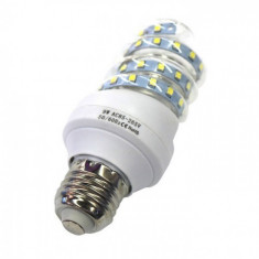 Bec LED E27 9W Spirala, Becuri LED