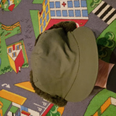 Caciula model militar/vanatoare - Fes Barbati, Marime: L, Culoare: Verde