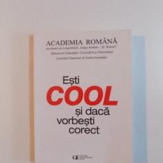 ESTI COOL SI DACA VORBESTI CORECT de BLANCA CROITOR , ISABELA NEDELCU , RODICA ZAFIU , 2010