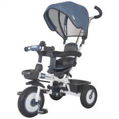 Tricicleta Multifunctionala Rider Albastru - Tricicleta copii