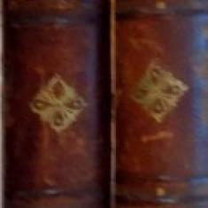 OPERE COMPLETE de V.A. URECHIA , SERIA B , TOMUL I-II , EDITIA A TREIA , 1878 / 1882